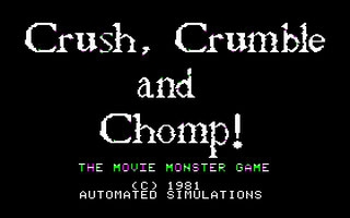 Crush - Crumble And Chomp!  image