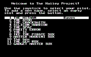Halley Project, The  image